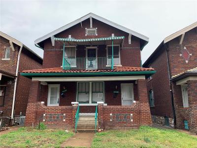 St Louis Multi Family Home For Sale: 4235 Dewey Avenue #A