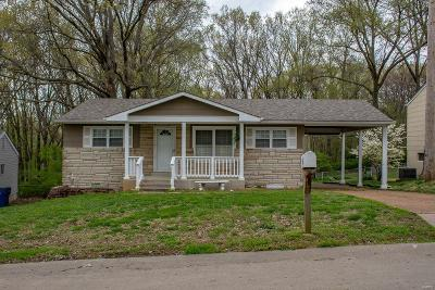 St Louis MO Single Family Home For Sale: $149,900
