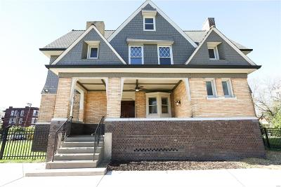 St Louis Single Family Home For Sale: 5900 West Cabanne