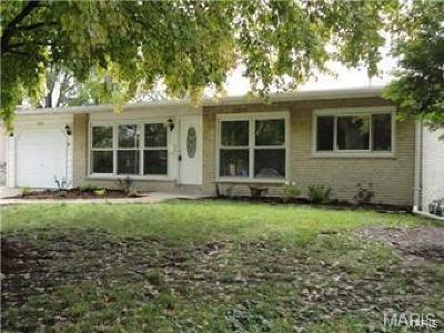 St Louis County Single Family Home For Sale: 1860 Flicker