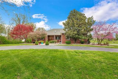 Millstadt Single Family Home Active Under Contract: 3425 Douglas Road