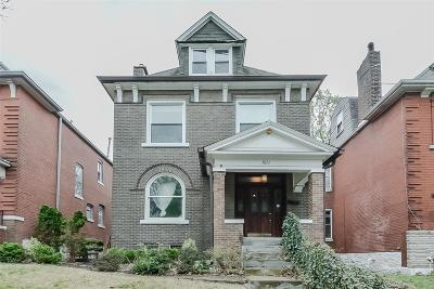 St Louis Single Family Home For Sale: 3822 Connecticut Street