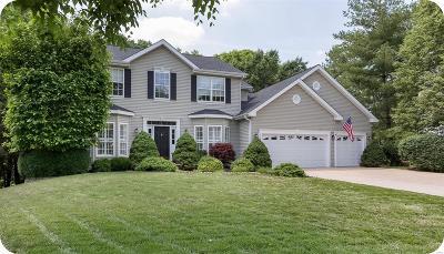 Ballwin Single Family Home For Sale: 1104 New Ballwin Oaks