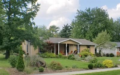 Monroe City MO Single Family Home For Sale: $189,900