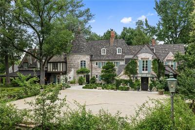Ladue Single Family Home For Sale: 5 Chateau Oaks