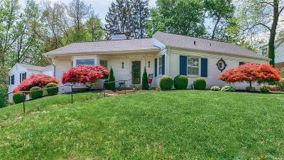 Ladue Single Family Home For Sale: 12 Colonial Hills Parkway