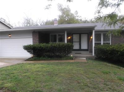 St Louis County Single Family Home For Sale: 4524 Tarlton Drive