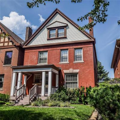 Central West End Single Family Home For Sale: 4145 West Pine Boulevard