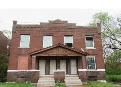 St Louis City County Multi Family Home For Sale: 4218 -20 North 21st Street