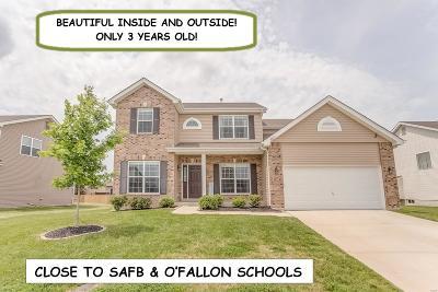 O'fallon Single Family Home For Sale: 6817 Ridge Pointe Drive