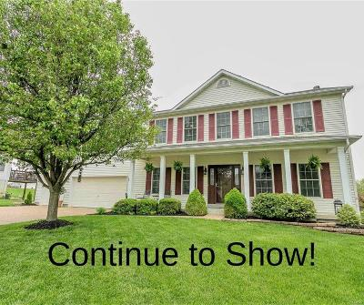 Wentzville Single Family Home Active Under Contract: 75 Wessex Court