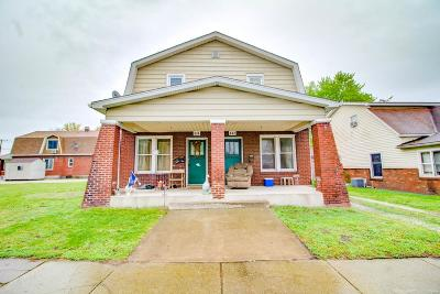 East Alton Multi Family Home For Sale: 632 Broadway