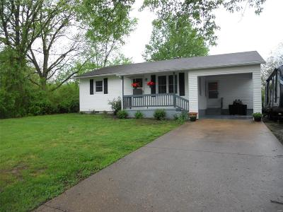 Franklin County Single Family Home For Sale: 831 Shady Lane