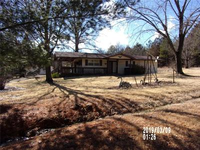 Potosi Single Family Home For Sale: 10192 Hillcrest Road