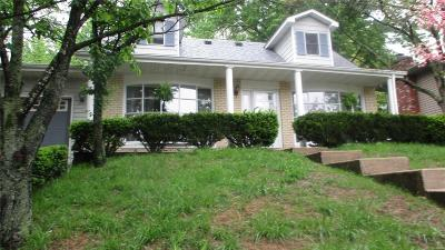Glen Carbon Single Family Home For Sale: 30 Hickory Hill Lane