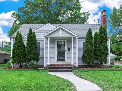 Collinsville Single Family Home Active Under Contract: 115 South Jefferson Avenue