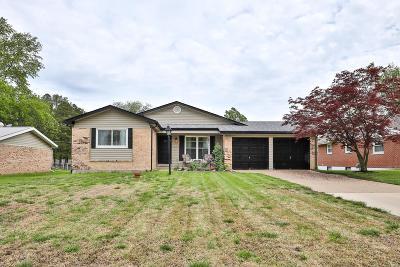 Ellisville Single Family Home For Sale: 1517 Polaris Drive