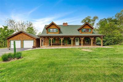 Millstadt Single Family Home Active Under Contract: 5445 Saxtown Road