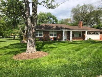 Maryland Heights Single Family Home Active Under Contract: 8 Mid Circle Drive
