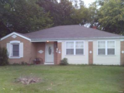 Granite City Single Family Home For Sale: 813 East Chain Of Rocks