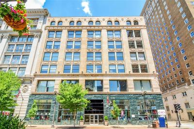 St Louis City County Condo/Townhouse For Sale: 901 Washington Ave #609