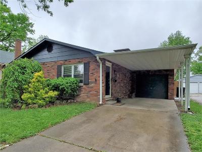 Granite City Single Family Home For Sale: 2521 Delmar Avenue