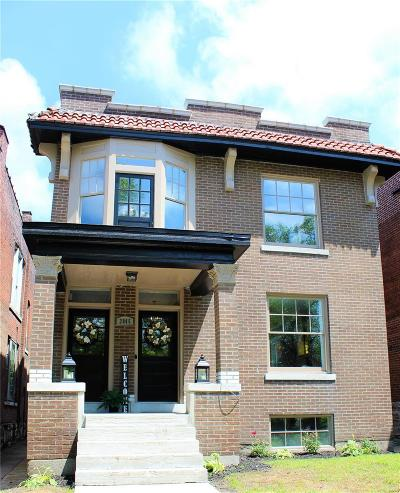 St Louis City County Single Family Home For Sale: 3845 Shaw Ave