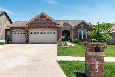 Wentzville MO Single Family Home For Sale: $310,000