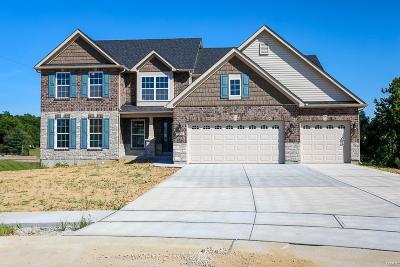 Eureka Single Family Home For Sale: 2 Bblt Steeple Hill/Barrington