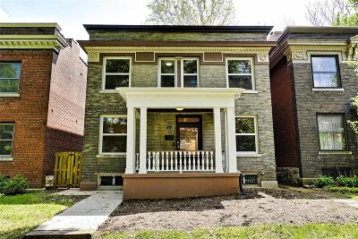 St Louis City County Single Family Home For Sale: 6174 Washington Boulevard