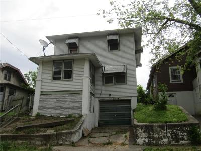 Hannibal MO Single Family Home For Sale: $27,000