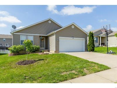 O'Fallon Single Family Home For Sale: 526 Rifle Ridge Drive