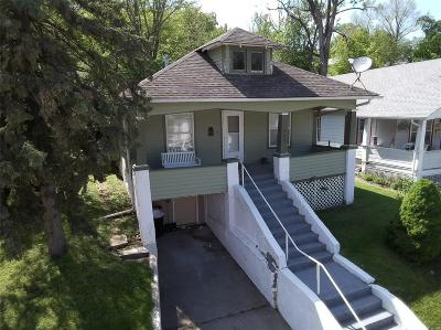 Hannibal MO Single Family Home For Sale: $63,500