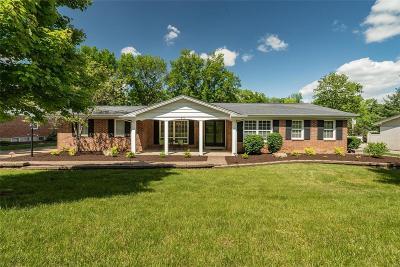 Ballwin Single Family Home Active Under Contract: 423 Monticello