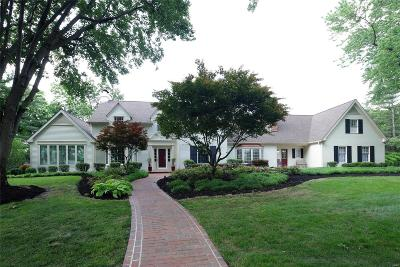 Frontenac Single Family Home For Sale: 7 Fox Run Lane