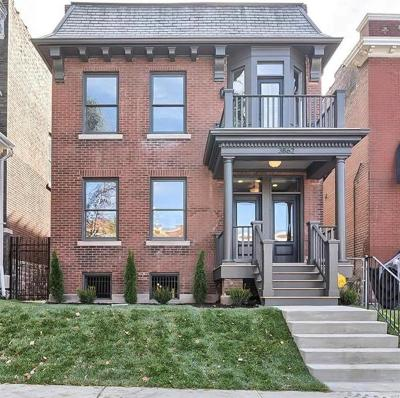 St Louis Single Family Home For Sale: 3862 Humphrey Street