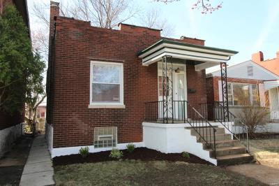 St Louis Single Family Home For Sale: 4028 Winnebago