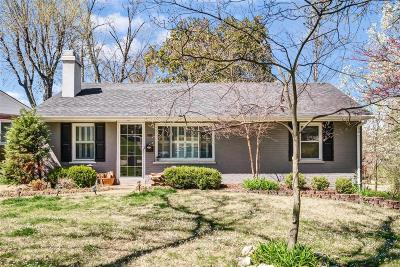 Brentwood Single Family Home Active Under Contract: 8603 White Avenue