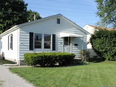 Bethalto IL Single Family Home For Sale: $79,900