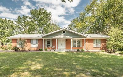 Lake St Louis Single Family Home For Sale: 1 Lemans Place