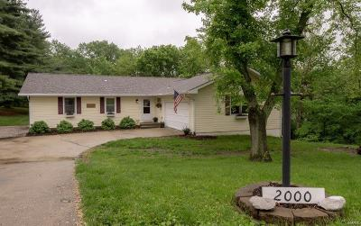 Collinsville Single Family Home For Sale: 2000 Valley View