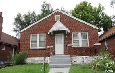 St Louis Single Family Home For Sale: 4201 Darby