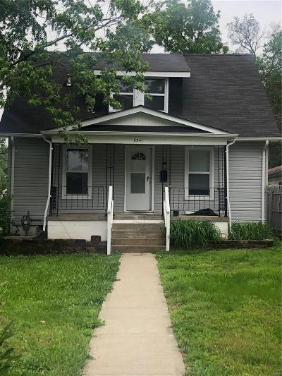 Single Family Home For Sale: 6541 Etzel Avenue