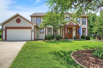 O'fallon Single Family Home Active Under Contract: 1017 Cottonwood Court