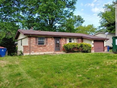 St Louis MO Single Family Home For Sale: $40,000