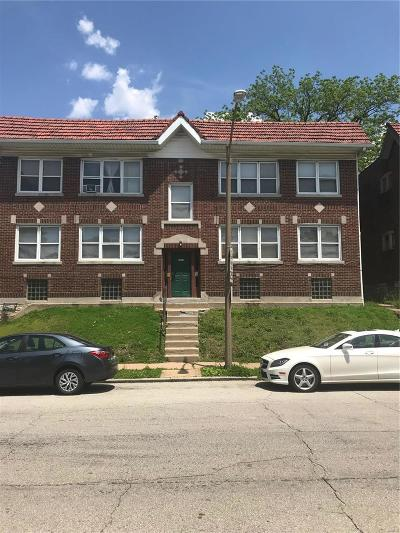 St Louis City County Multi Family Home For Sale: 5315 Wells Avenue