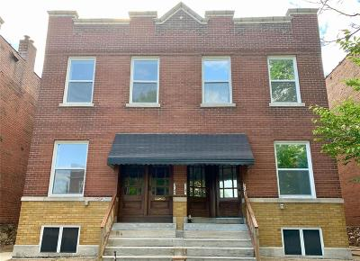St Louis City County Single Family Home For Sale: 3149 Michigan Avenue