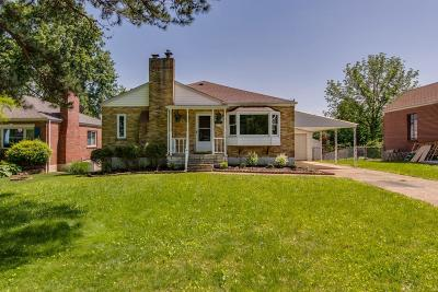 Single Family Home For Sale: 7032 Eichelberger Drive