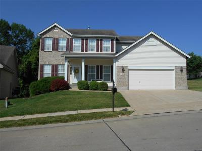 St Louis Single Family Home For Sale: 3183 Kingsridge Manor