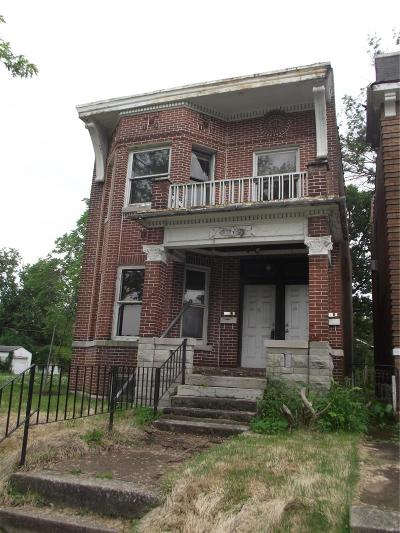 St Louis City County Multi Family Home For Sale: 4704 Newberry